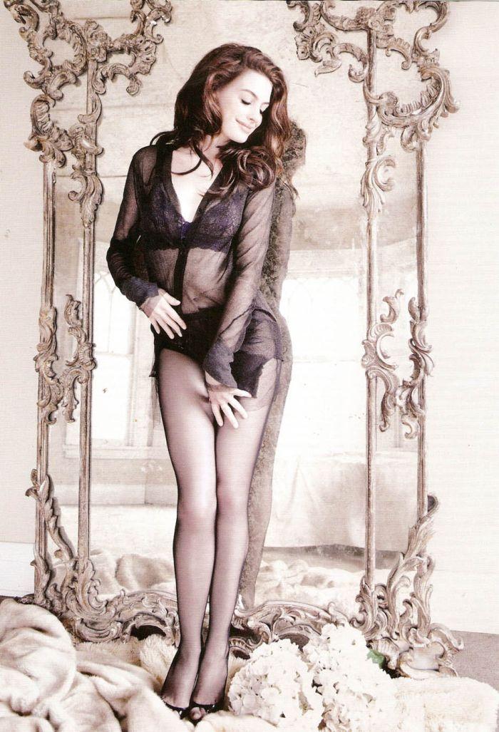 Энн Хэтэуэй горячие фото