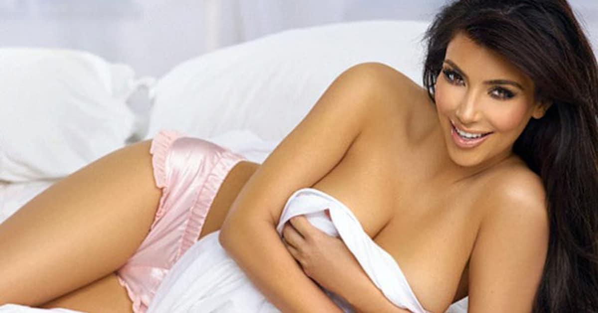 Ким Кардашьян фото плейбой