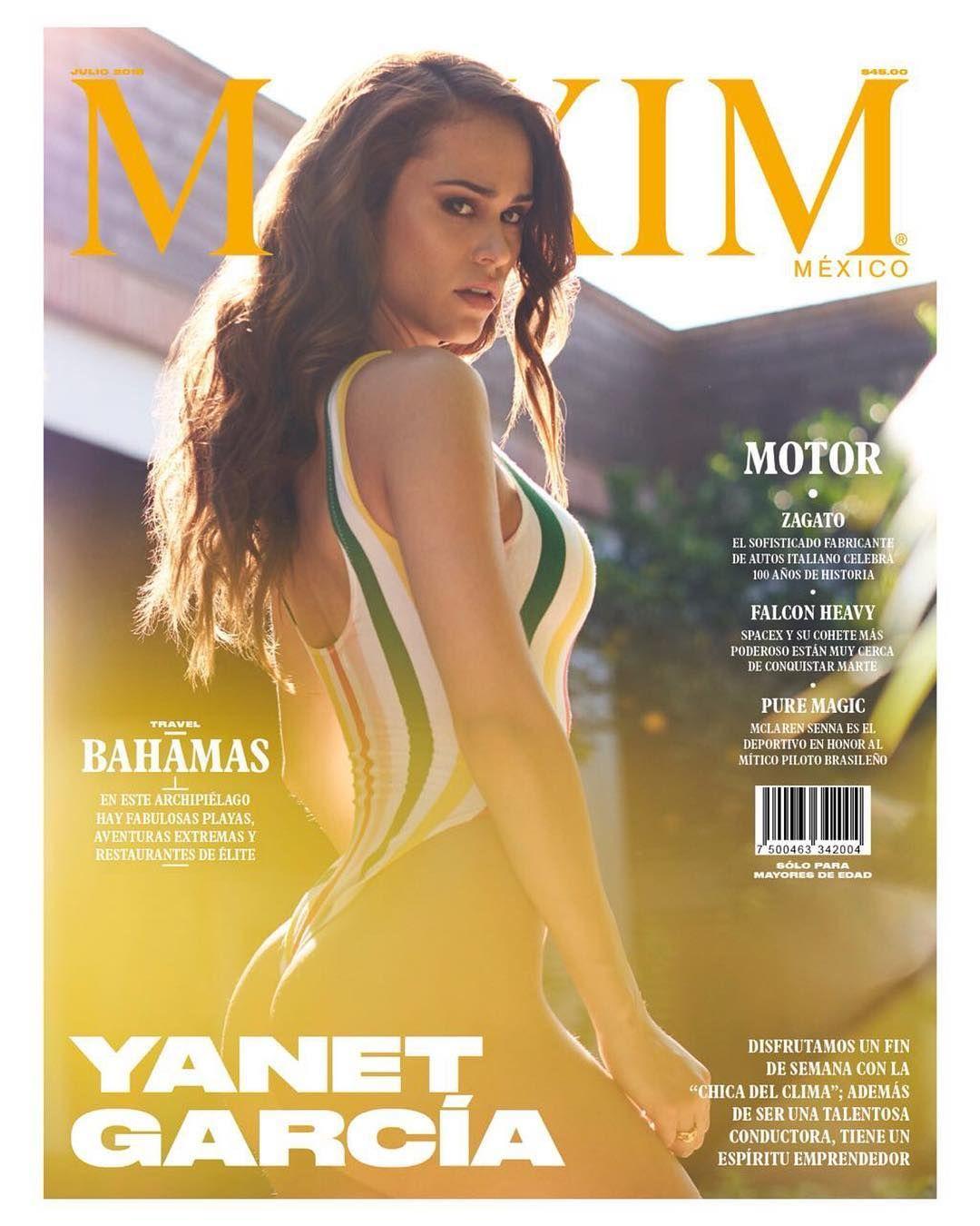 Янет Гарсия фото в мужских журналах
