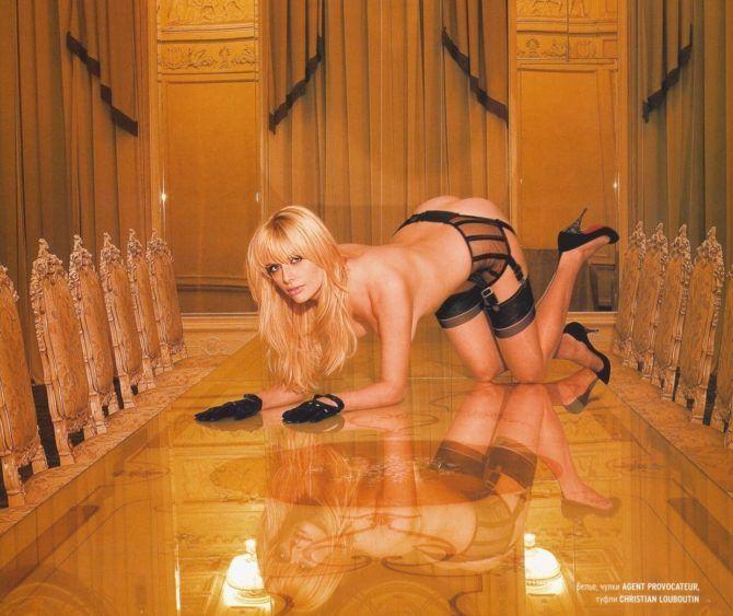 Анна Чурина горячие фото для мужских журналов